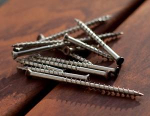 painted screws